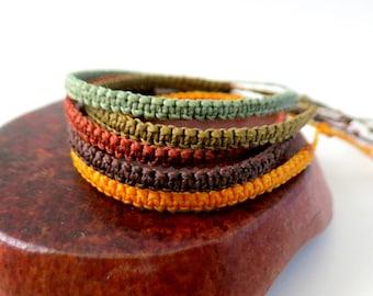Brazilian surf bracelet / friendship bracelet