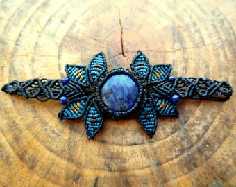 Macrame bracelet fairy bracelet with stones