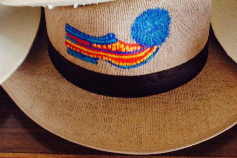1cc178c06d93b Pintado a mano sombreros zapatos griegos tradicionales hecho