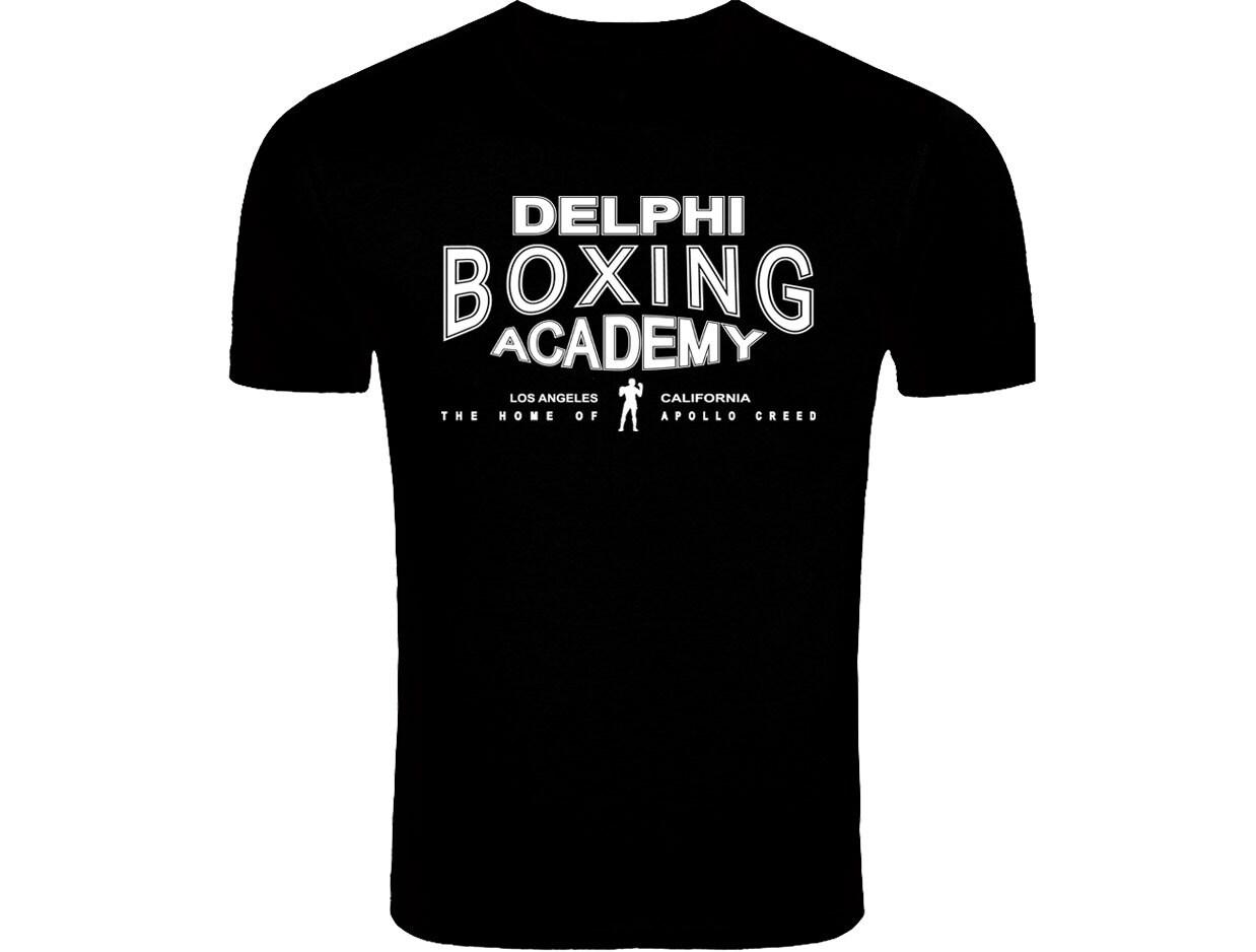 Rocky Balboa Creed Inspired Delphi Boxing Acadmey Logo T-shirt Screenprinted SweatShirt