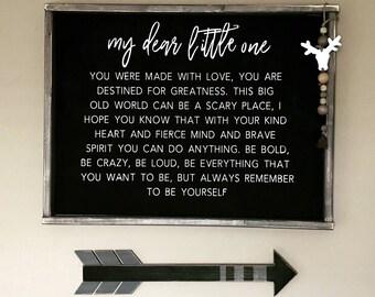 Dear Little One Etsy