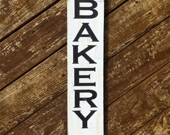 Wooden bakery sign, bakery sign, wood kitchen sign, farmhouse kitchen decor