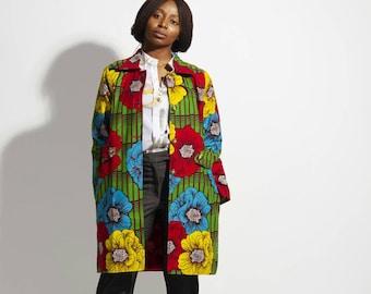 Ankara coat(unisex)