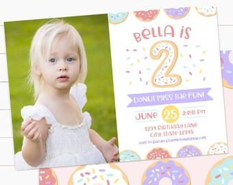 Girl birthday invite Etsy