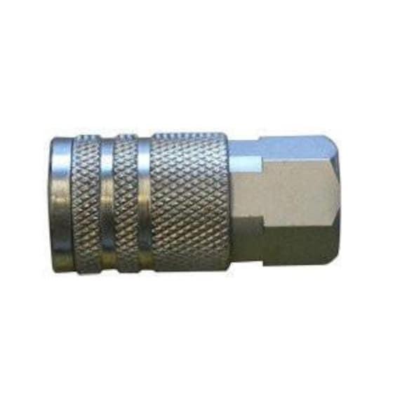 CA661 3//8 Inch Automotive Steel Coupler x 3//8 Inch Male NPT