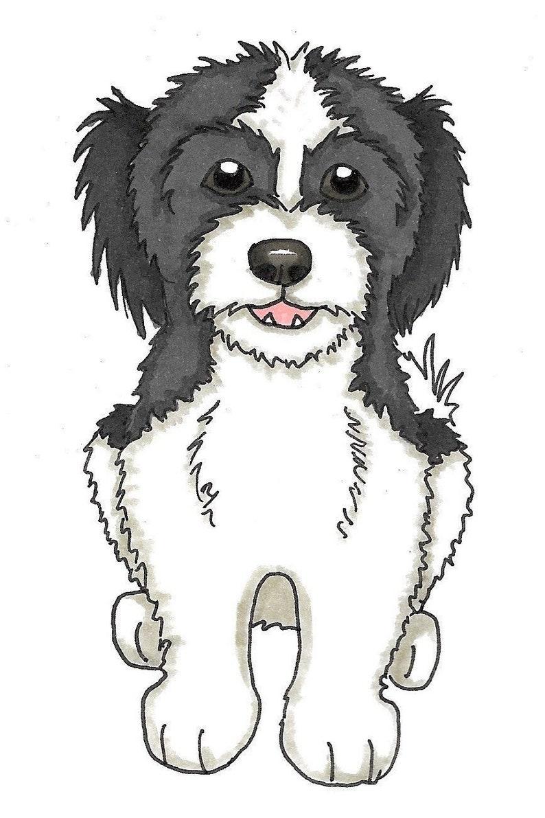 Custom Dog Cartoon | Pet Caricature | Dog Doodle | Bespoke Dog Drawing,  Portrait, Illustration