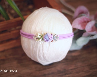 newborn headband,newborn props,organic tieback,tieback,photography props,baby headband,nylon headband,stretch headband,