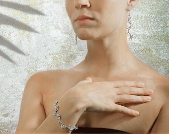 bracelet earrings Spigola Set