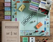Monopoly Personalized Vintage Bookshelf Edition Board Game, Personalized Games, Game Lovers