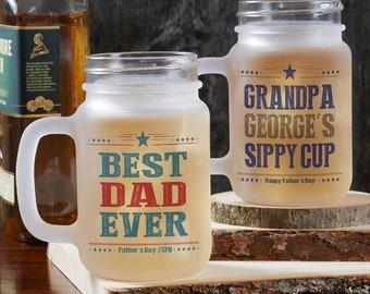 Dad Mason Jar Etsy