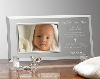 Christening Day Personalized Frame