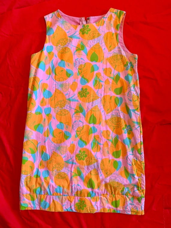 1970's Lilly Pulitzer Minnie Shift Dress
