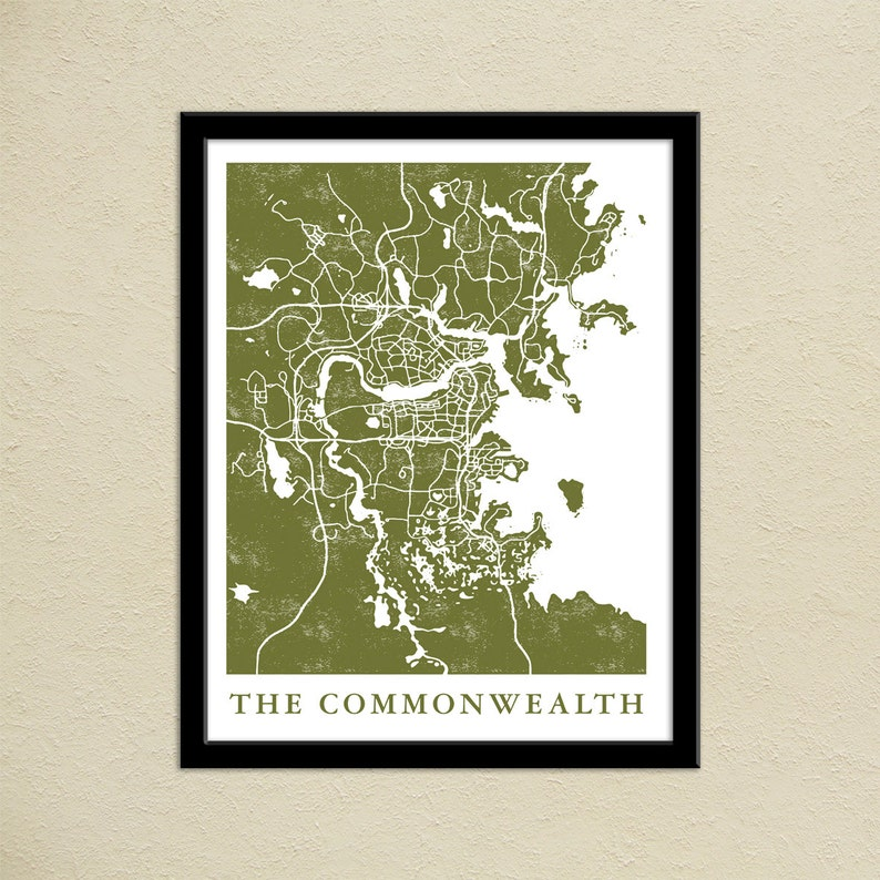 image regarding Fallout 4 Printable Map known as Fallout 4 The Commonwealth Map Print Gamer Xmas Offer Boston Commonwealth Map Poster Online video Match World-wide Map Artwork Movie Video game Artwork