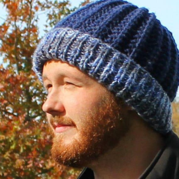 Maverick Stocking Capbeanie Patternknitted Hat Etsy