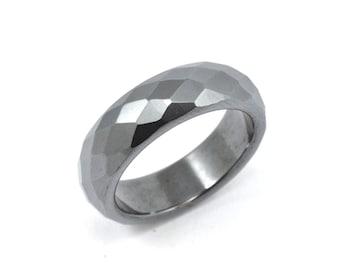 Size 6.5 Hematite Ring