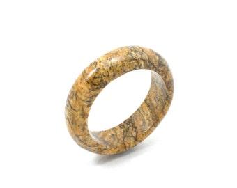 Size 7.75 Jasper Ring