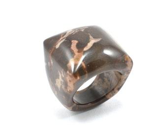 Size 8 Jasper Ring