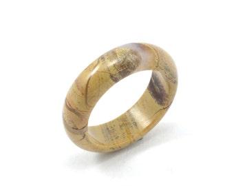 Size 7 Jasper Ring