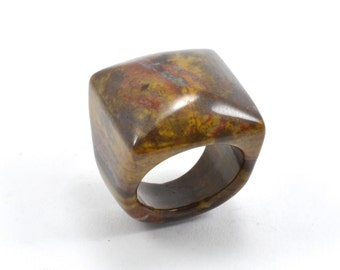 Size 7.5 Jasper Ring