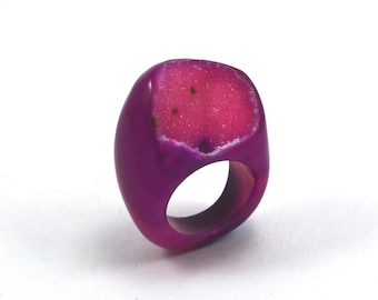 Size 7.5 Agate Ring
