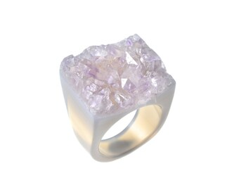 Size 7.5 Amethyst Ring