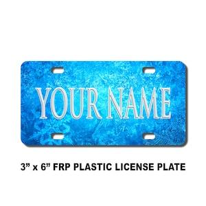 Personalised Number Plate Personnalisé plaque d/'immatriculation Nouveauté Emoji Plaque
