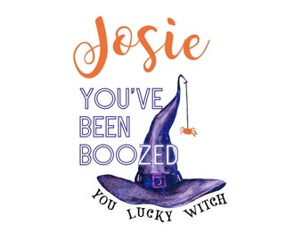 PERSONALIZED You've Been BOOZED Printable Collection We've Been Boozed DIY - Booze - Boozing - Youve been boozed printables