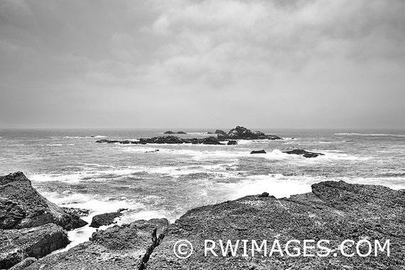 Point Lobos California West Coast Fine Art Photography Black | Etsy