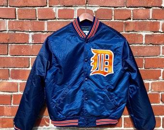 a0329618e Starter Detroit Tigers Satin Jacket
