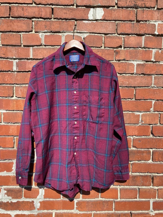 Vintage Mens Pendleton Flannel Shirt