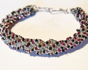 Spiraling Helix Bracelet