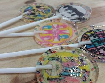 15 The Beatles Handmade Lollipops
