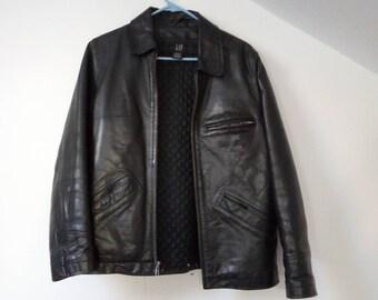 e3c6e6520 Gap leather jacket | Etsy