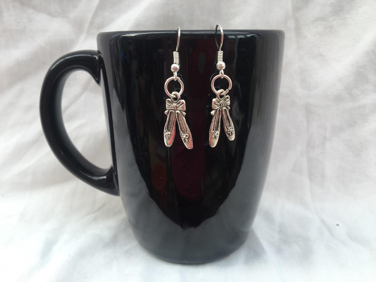 ballet shoes earrings