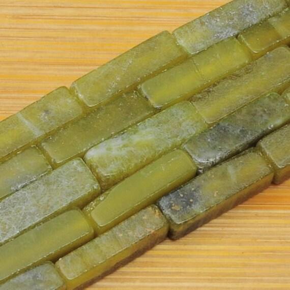 4mm Verde chrysoprase suelto bolas 15.5 Pulgadas Joyería estilos Piedra Hecho a Mano 1 un
