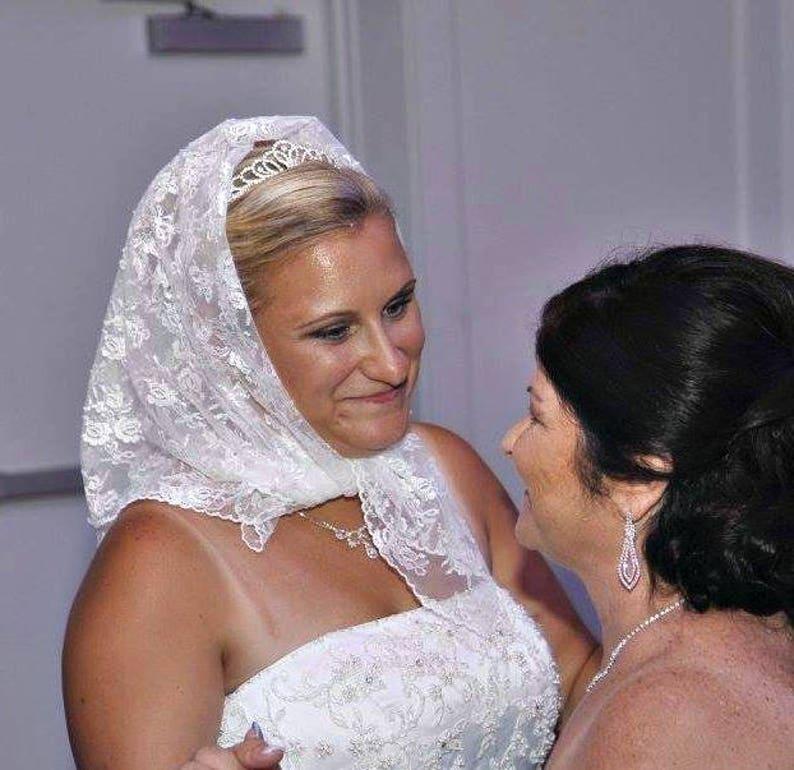Money Dance Wedding.Bridal Babushka Dollar Dance Money Dance Lace Wedding Headscarf Polish Custom Tradition Polka Wedding Reception Accessories Veil