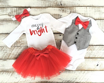 Matching sister christmas outfits | Etsy