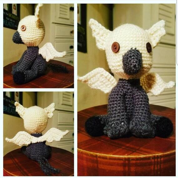 Hippogriff crochet amigurumi plush toy | 570x570
