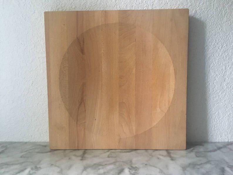 f35bb8a47494d Georg Fontana Vintage Bodum wood cheeseboard butcher block
