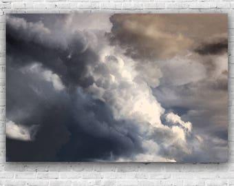 Cloud Water colour - Scandinavian, Scandi, nursery art , wall art, babies, toddler room