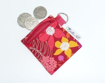 Coin Purse Horse Change Purse Pouch Zip Wallet Keyring Zipper Pouch Wallet, Lip Balm Holder Earbuds Pouch Keychain Pouch Dala Horse