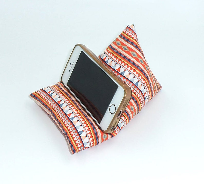 Smart Mobile Phone Holder Cushion cotton Beanbag Stand  image 0