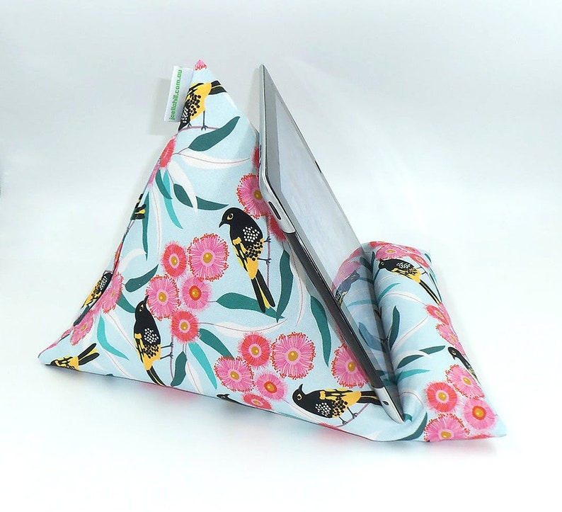 MADE TO ORDER iPad Holder / Book Beanbag washable cover hand image 0