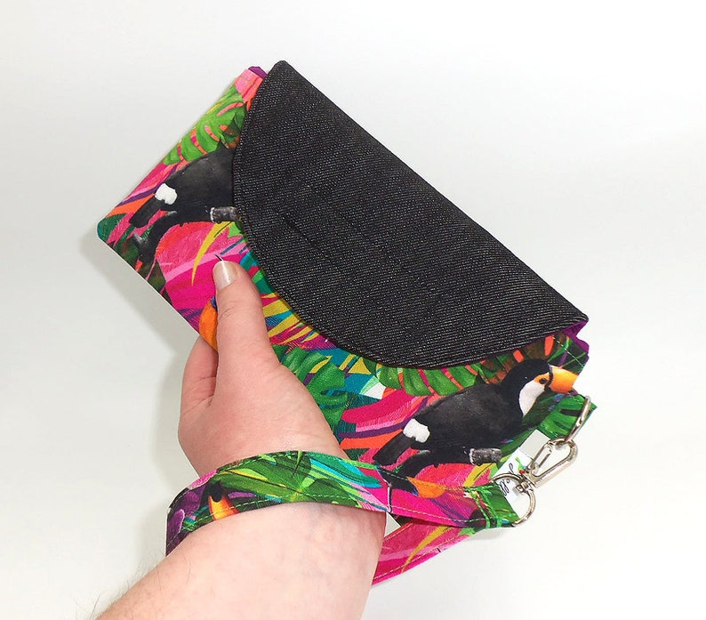 Smart Mobile Phone Wallet Card Holder hand made by Australian image 0