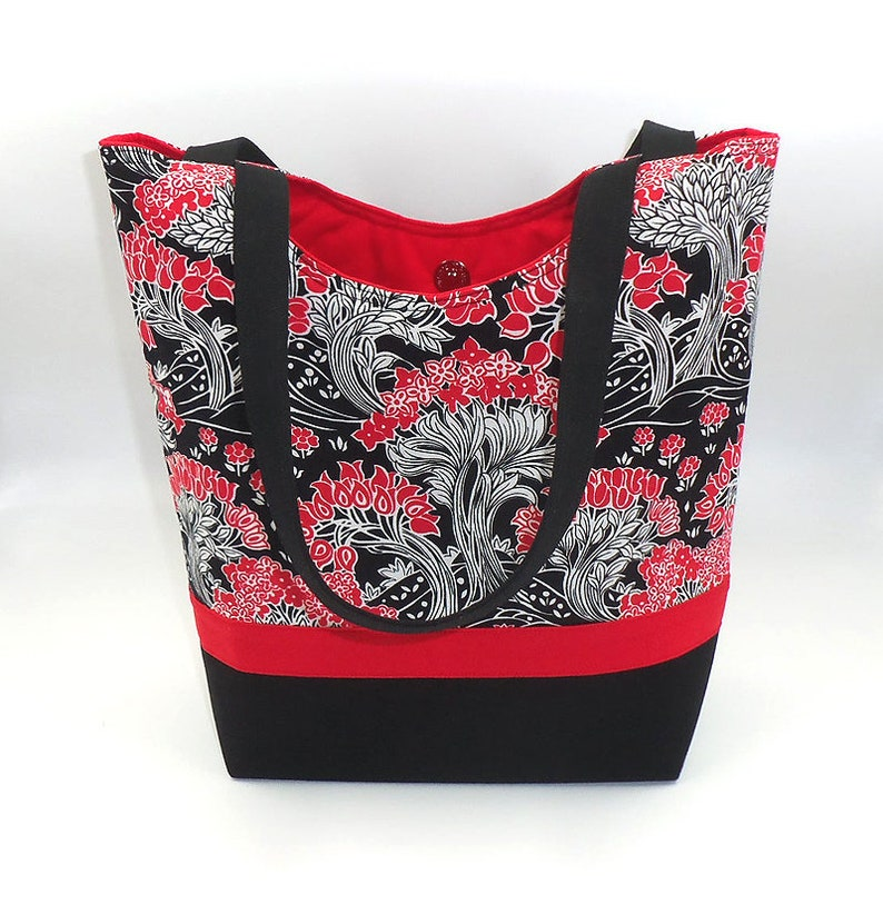 Signature Tote shoulder bag with six pockets for travel craft image 0