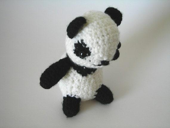 Patrick De Pandahaak Panda Bearpanda Bear Speelgoedgehaakte Etsy