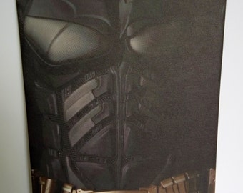 Batman Torso Canvas Print