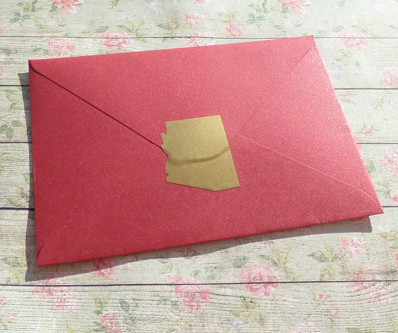 40 Arizona stickers state wedding invitation seal envelope   Etsy