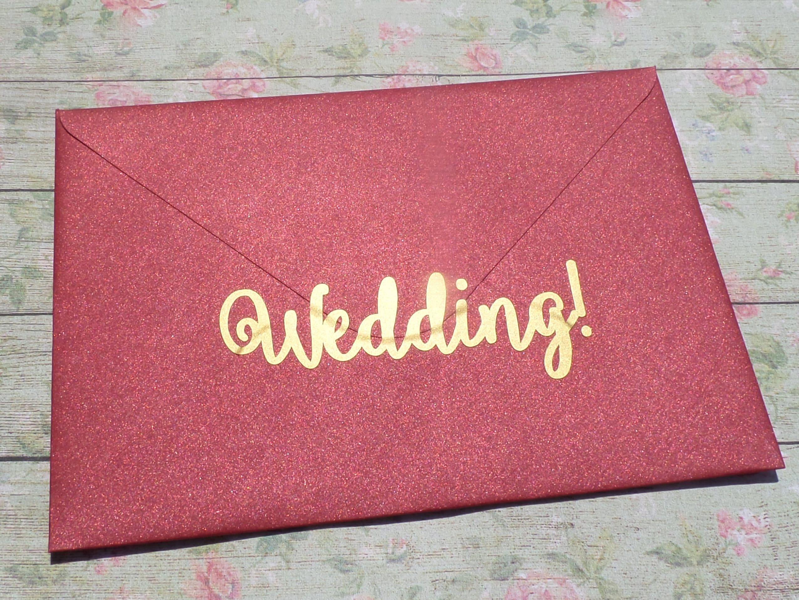 15 Wedding stickers wedding invitation seal gold envelope | Etsy