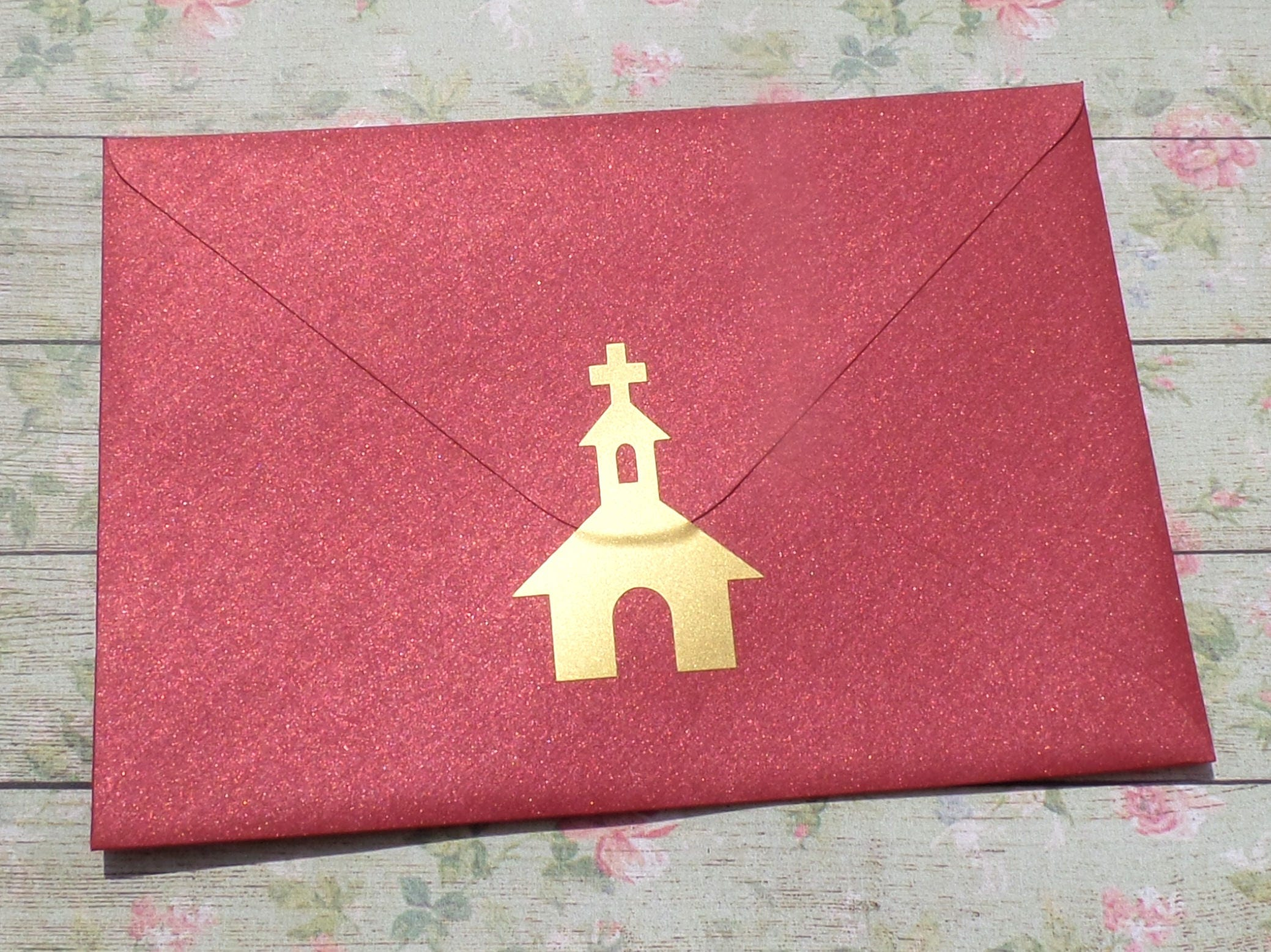 20 Gold Church Stickers baptism invitation seal church   Etsy